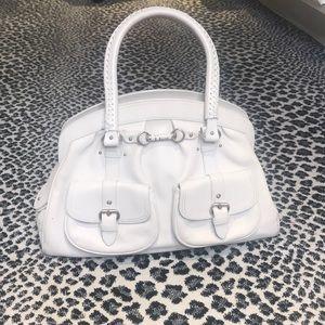 Light cream color Christian Dior handbag 👜